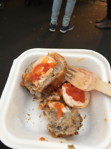 Artisinal scotch egg from Borough Market